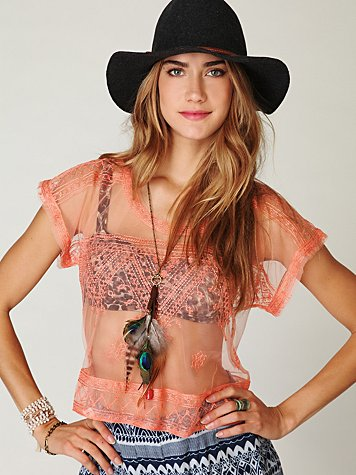 Fashion style Wear to what under sheer tops yahoo for girls