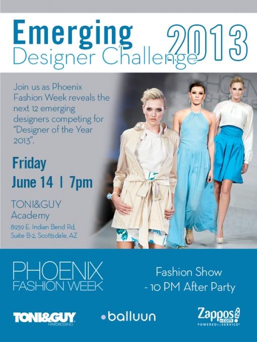 Emerging Designer Challenge Flyer