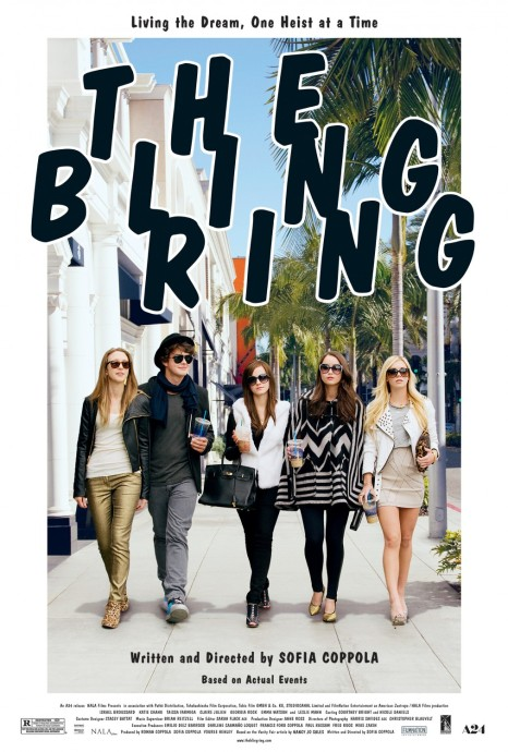 THE BLING RING poster art